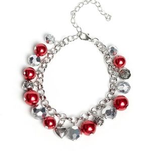 Cupid Couture Red Paparazzi Bracelet